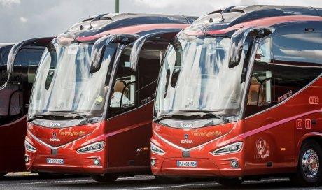 Reportage Scania - Double Irizar I8 Scania Rouge